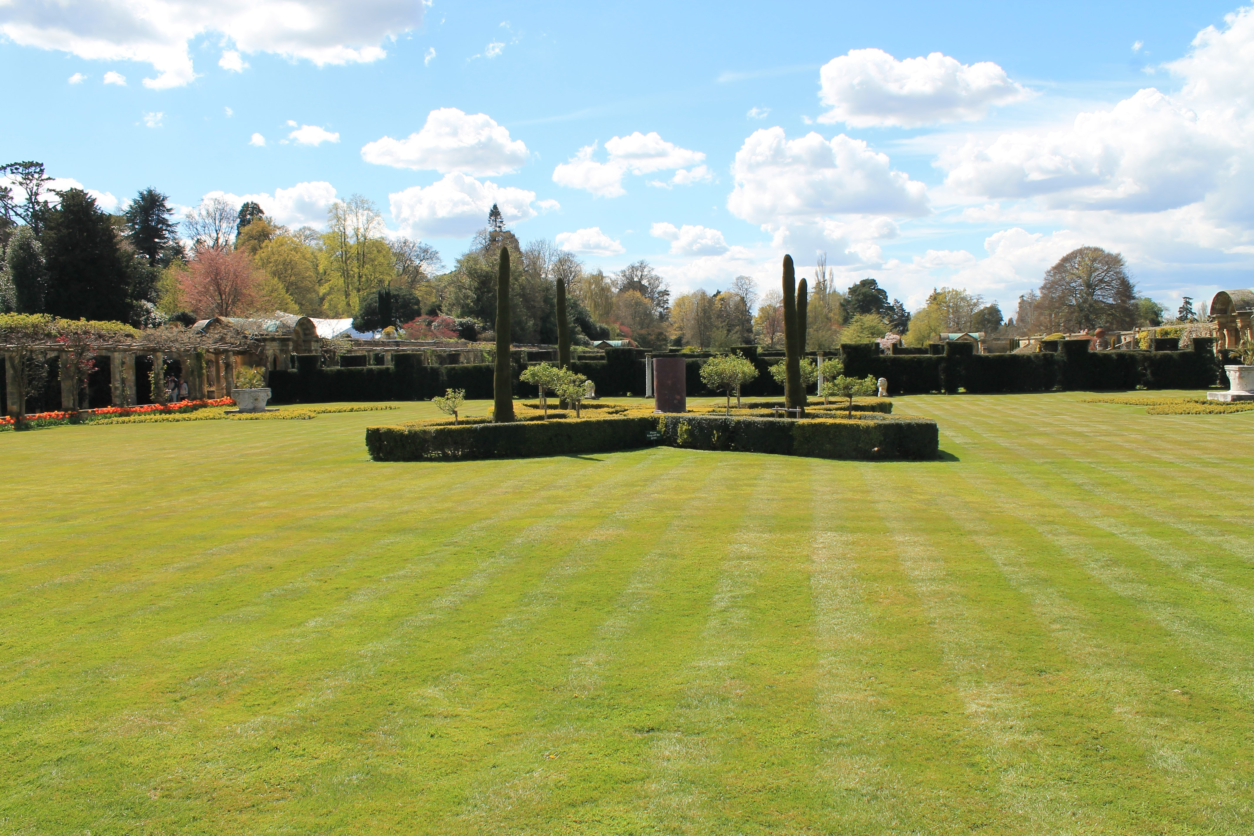 Lawns at Hever Castle Image
