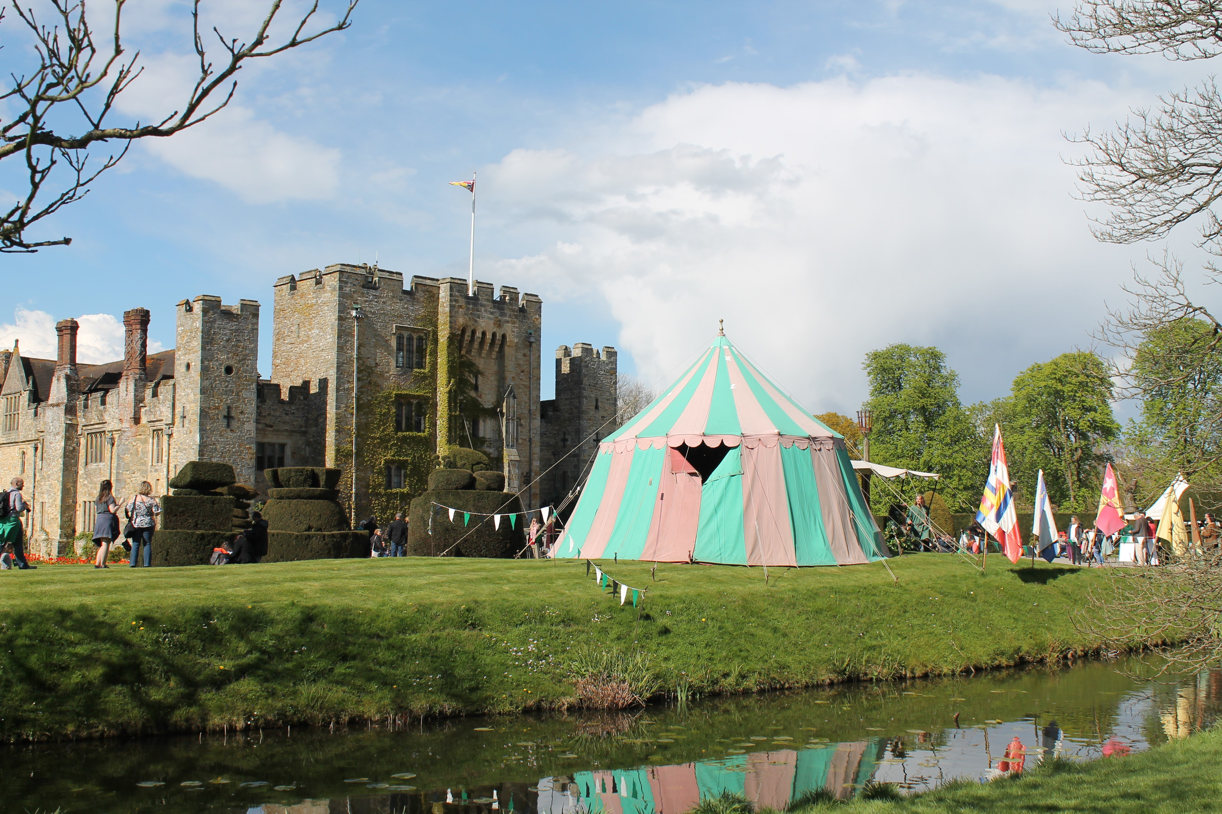 May Day Tent at Hever Castle Image