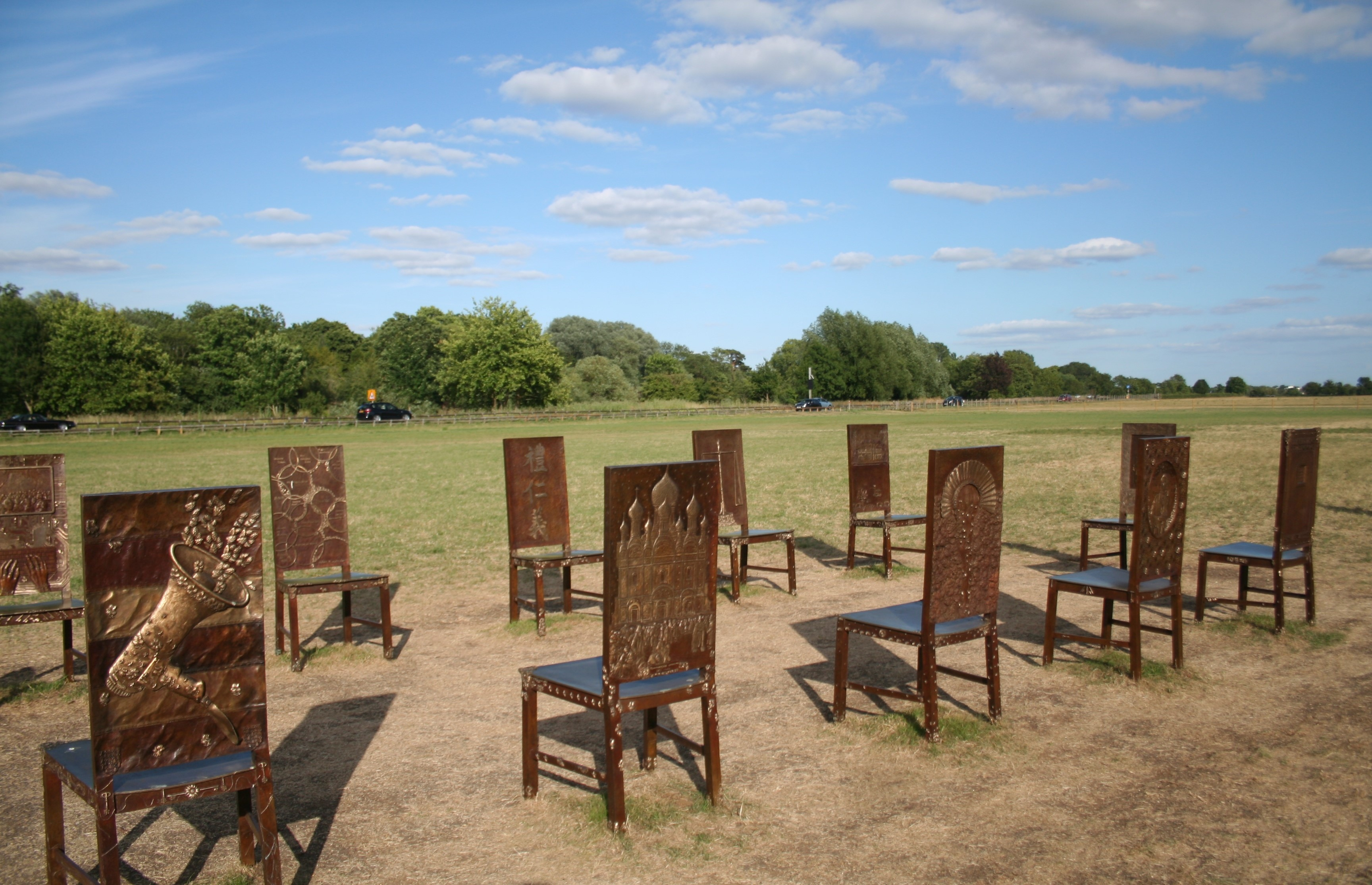 Empty chairs Image