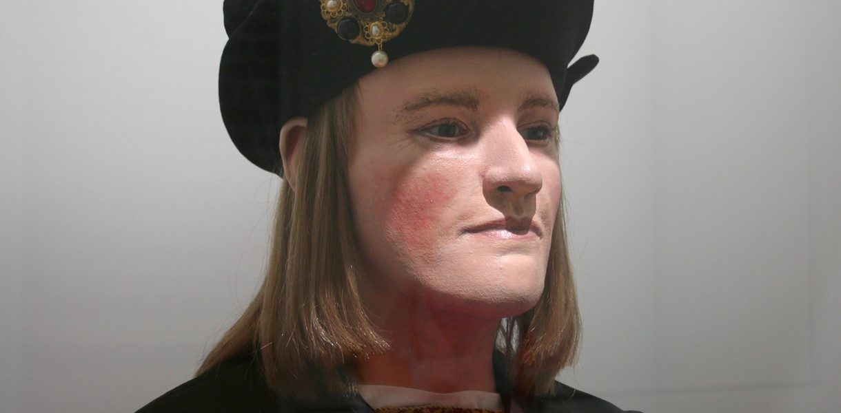 Richard III head Image